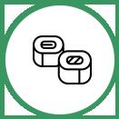 Taśmy samoprzylepne ikonka Polimer-eko